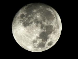 Full Moon in Vegas