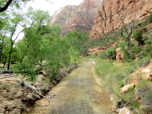 Emerald pools trail