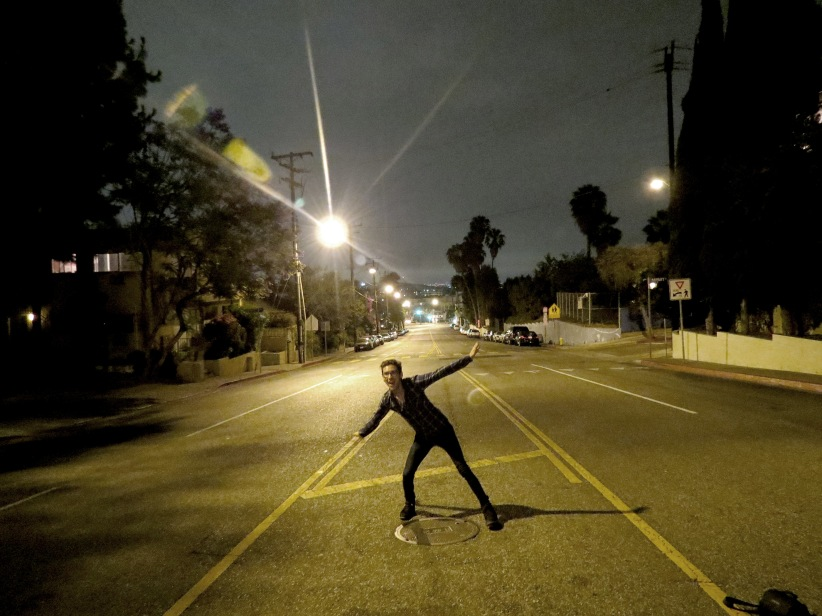 There's never any cars around 2am so why not dance in the street.