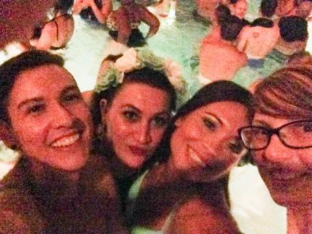 Me, Melissa, Rachel and Meagan