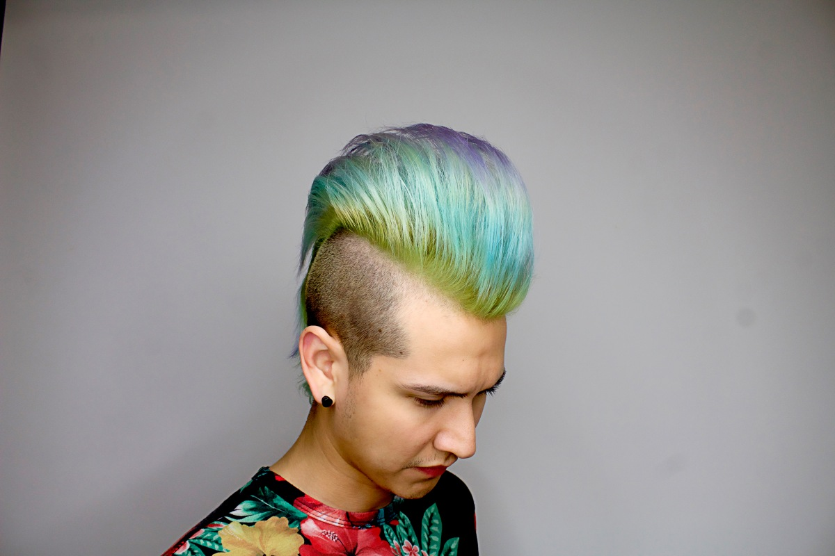 Vibrant Pastel Hair Project